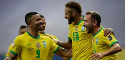 ब्राजिलको लगातार तेस्रो जित