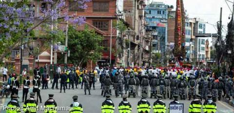 कडा सुरक्षा घेराबीच मच्छिन्द्रनाथको रथयात्रा सम्पन्न