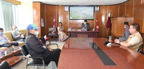 काठमाडौं महानगर सञ्जालसहितको आइसोलेसन सञ्चालन गर्दै