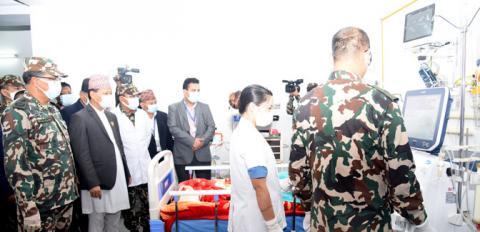 वीरेन्द्र अस्पताल छाउनीमा निःशुल्क हेमोडाइलाइसिस सेवा सुरु