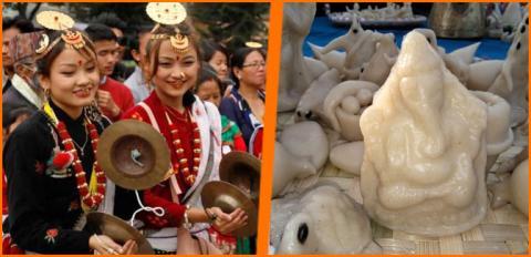 आज विभिन्न समुदाय विभिन्न साँस्कृतिक पर्वहरु मनाउँदै
